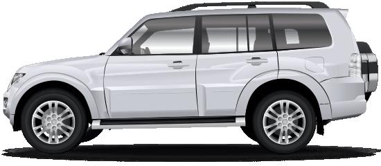 Mitsubishi pajero image