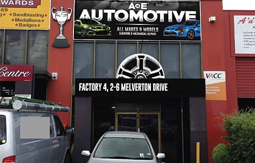 A 'n' E Automotive Hallam image