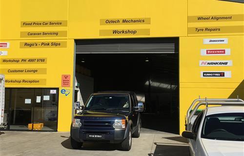 Oztech Motor Mechanics image