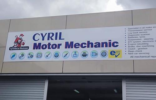 Cyril Motor Mechanic image