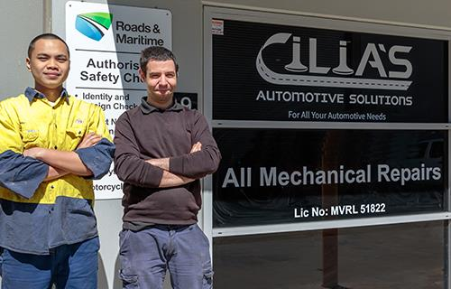 Cilia's Automotive Solution image