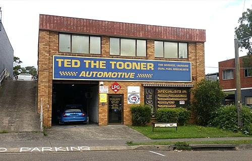Ted The Tooner image
