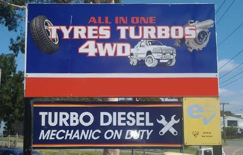 All in One Tyres and Turbos image