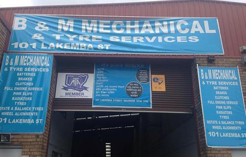 B & M Mechanical & Tyre Services image