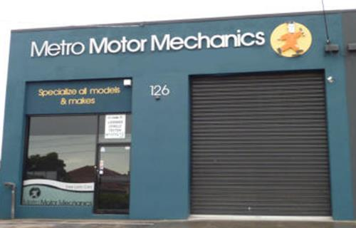 Metro Motor Mechanics image