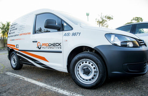 Procheck Automotive Mobile Brisbane image