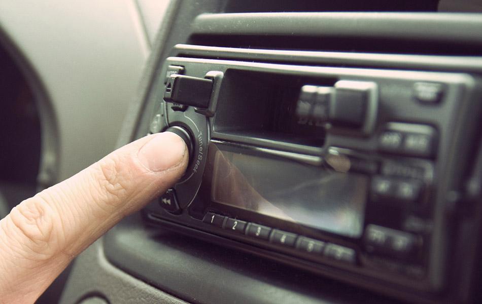car stereo head unit