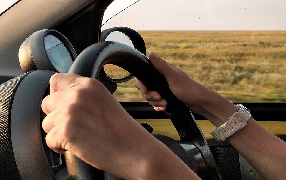 Creaking noise when turning steering wheel inspection